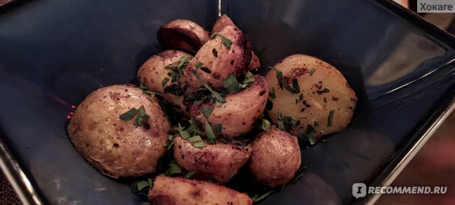 """Картофель """"бэби"""" с чесноком"""