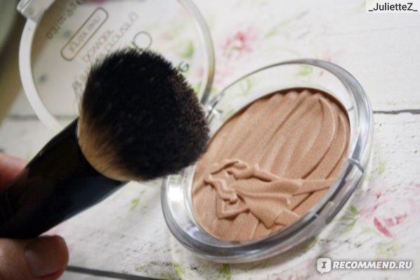 Кисти для макияжа РГ professional для нанесения бронзанта  фото