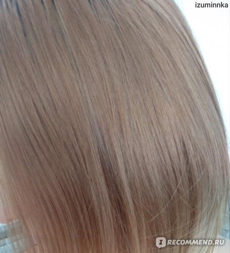 """Крем - краска для волос с тройным уходом Palette А10 """"Жемчужный блондин"""