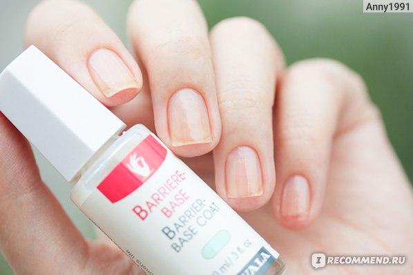 Защитное покрытие для слабых и хрупких ногтей Mavala Барьер-база фото