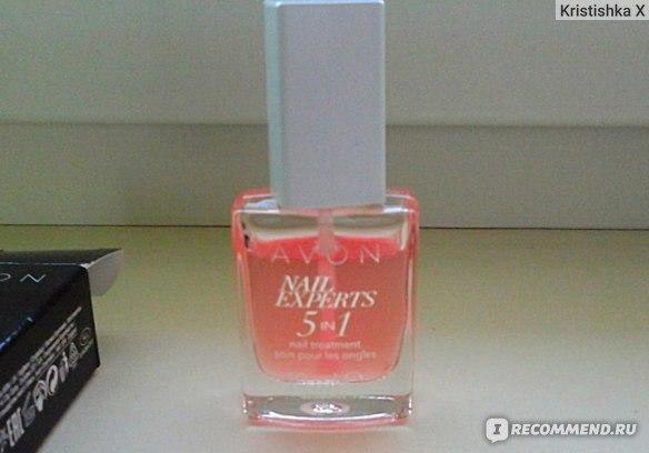 """Средство для ногтей Avon Nail Experts """"5 в 1"""" фото"""