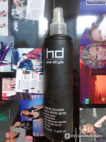 Спрей-блеск для волос FarmaVita HD Life Style VITAMIN BOOSTER EXTRA SHINE SPRAY витаминный  фото
