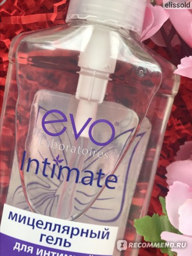 Средство для интимной гигиены EVO Intimate Мицеллярный гель