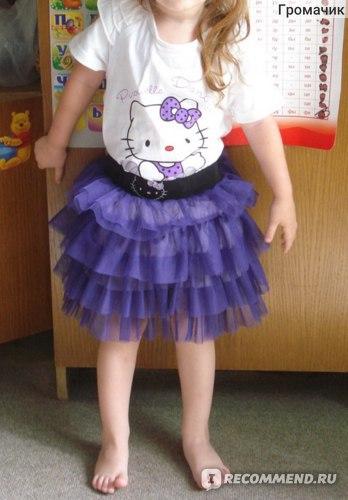 Костюм AliExpress Retail one set baby girls Hello Kitty clothing sets фото