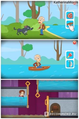 Мини-игры в Homescapes:)