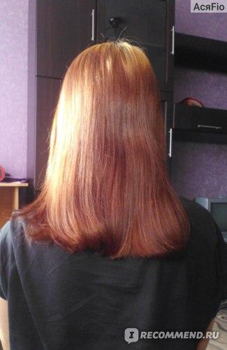 Кератиновое выпрямление волос (кератирование)  фото