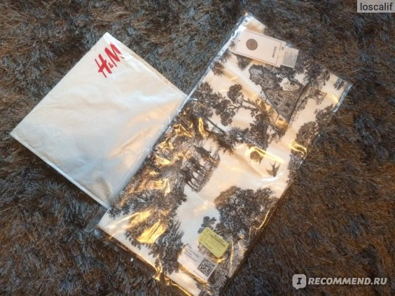 Наволочки H&M Home: упаковка