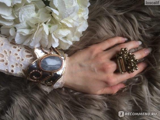 Браслет и кольцо Zara Campaign