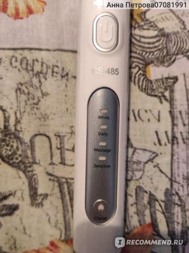 Электрическая зубная щетка CS Medica CS-485 фото