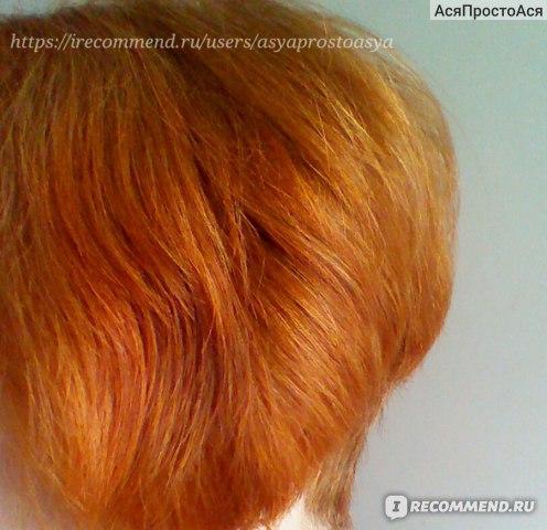 Здесь волосы после окрашивания, до покраски использовались кристаллы Oxilock Plasma Reset, шампунь с кондиционером Deva