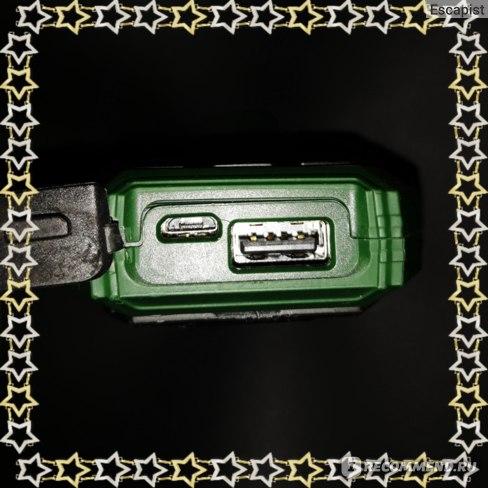 Слоты USB и зарядки