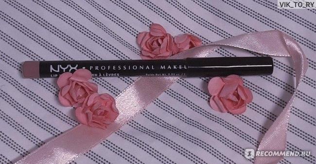 Карандаш для губ NYX Professional Makeup  Professional Make up SLIM LIP PENCIL тон 810 Natural фото