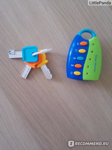 Музыкальная игрушка-брелок Smart remote фото