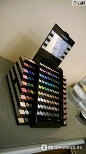 Палитра для макияжа лица Sephora 130 оттенков фото