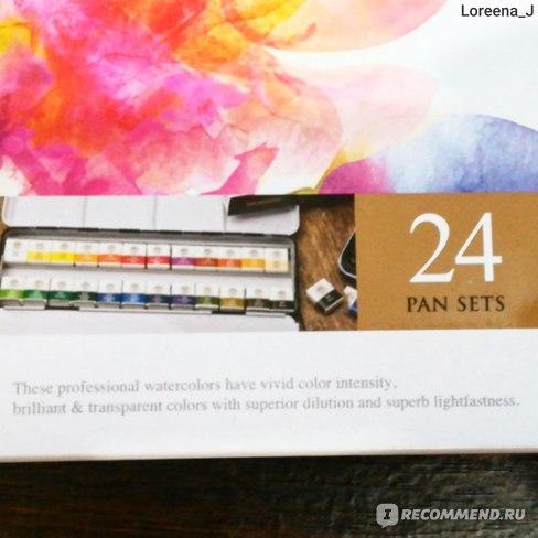 Акварель Mungyo professional watercolor 24 set фото