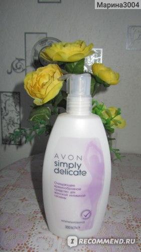 Гель для интимной гигиены Avon Simply Delicate фото
