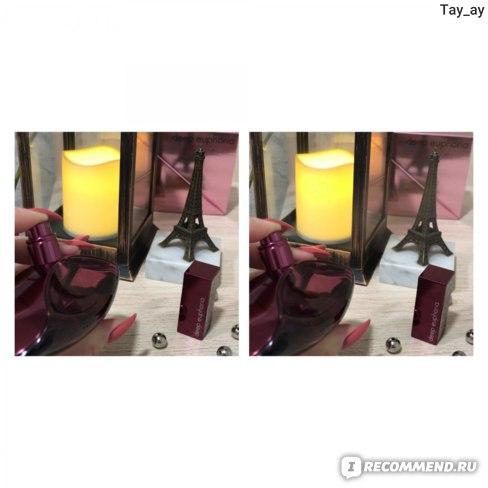 Фото слева - перед нажатием. Фото справа - в момент нажатия. Пшик.