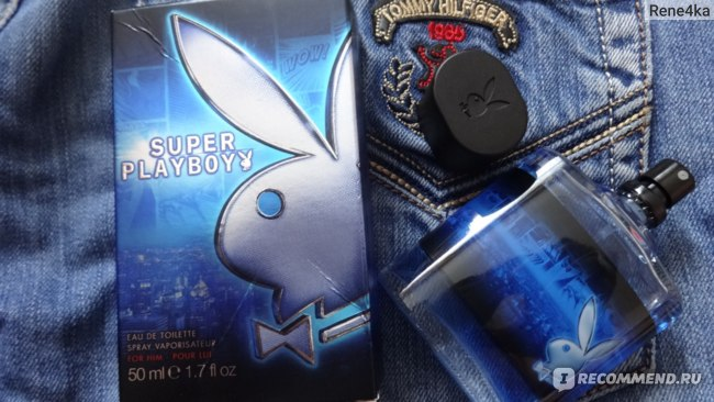 COTY Super Playboy фото