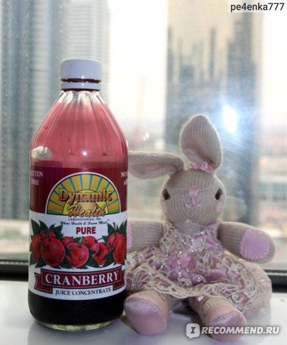 БАД Dynamic Health Laboratories  Pure Cranberry Juice Concentrate фото
