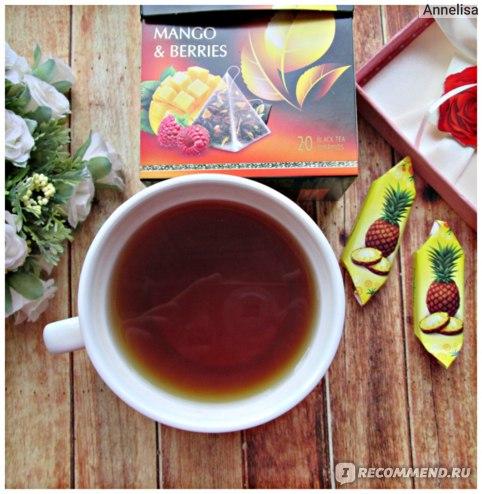 Чай в пирамидках Curtis Mango & Berries отзыв