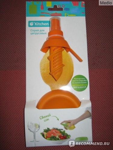 Спрей для цитрусовых. Fix Price Kitchen фото