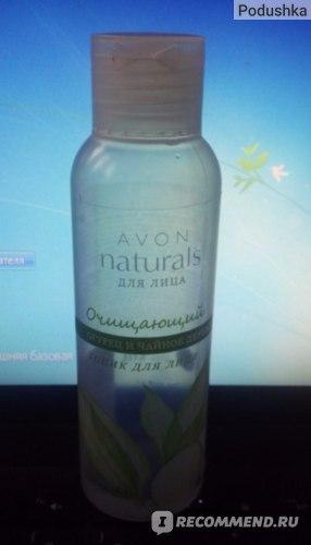 Тоник для лица Avon Naturals Очищающий огурец и чайное дерево фото