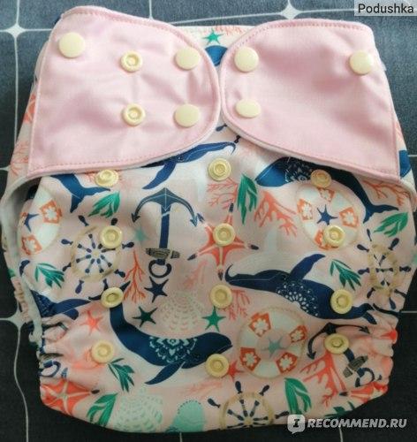 Многоразовые подгузники EezKoala для детей с рождения до трех лет от 3 до 18 кг  фото