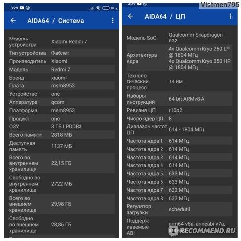 Смартфон Xiaomi redmi 7 фото