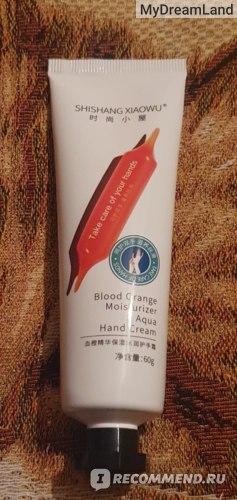 Крем для рук Shishang Xiaowu Blood Orange Moisturiser Hand Cream  фото