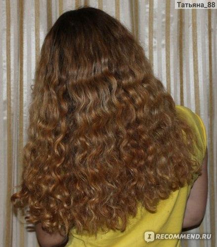 Волосы после шампуня infudra, маски concept и средства для кончиков infudra
