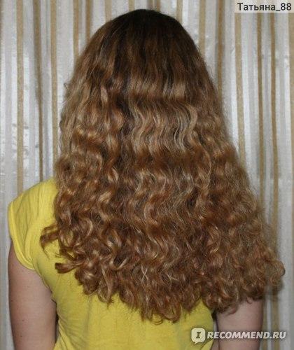 Волосы после шампуня и флюида аква минерал и маски концепт