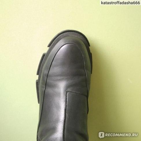 Обувь женская Aliexpress 2020 New Ins Real Leather Women Ankle Boots Fashion Platform Warm Fur High Heel Winter Shoes Woman Casual Footwear Size 35-43 фото