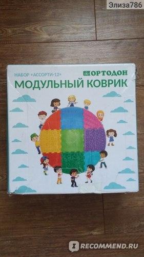 Ортопедический коврик Ортодон Модульный Ассорти-12 фото