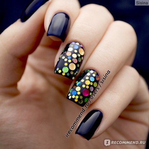 Дизайн ногтей на гель-лаке: Glitter Placement