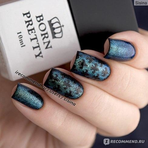 Дизайн ногтей на гель-лаке: трафареты