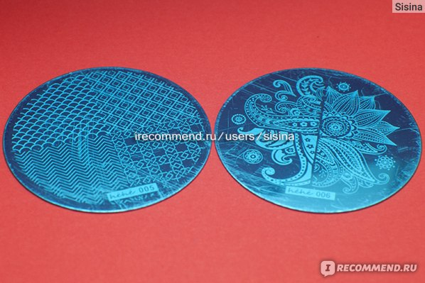Диск для стемпинга HeHe series Stamping Plates фото