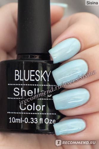 BLUESKY Shellac в оттенке 019