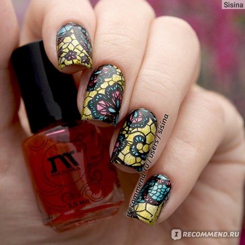 Дизайн ногтей на гель-лаке: раскрашенные слайдеры