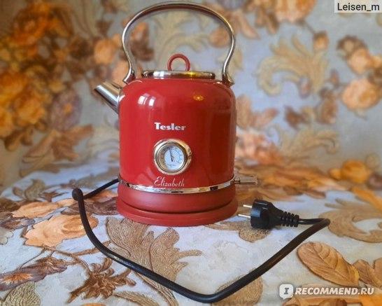 Электрический чайник Tesler Elizabeth KT-1745 фото