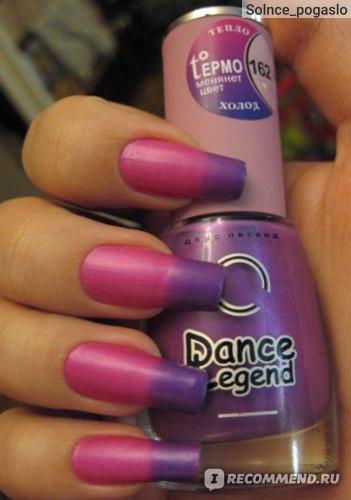 Лак для ногтей Dance legend Термолак фото