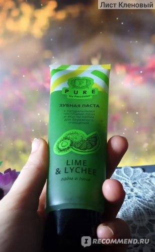 Зубная паста President  Pure Lime & Lychee (Лайм и личи) фото