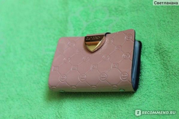Визитница Aliexpress Duer card holder japanned leather cowhide male bank card holder фото