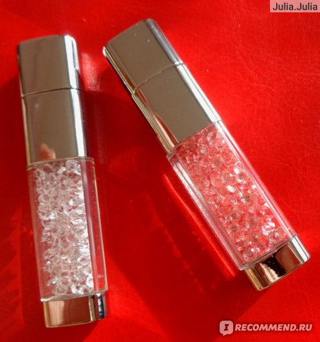Флешка Aliexpress Miss Puff Lipstick usb flash drive 4GB 8GB 16GB 32GB 64GB crystal Jewelry creative u disk pen drive pendrive memory card disk фото