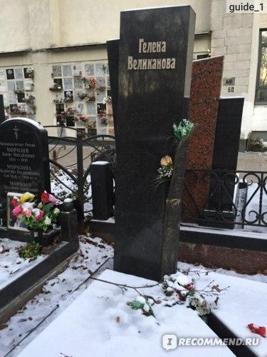 Могила Гелены Великановой