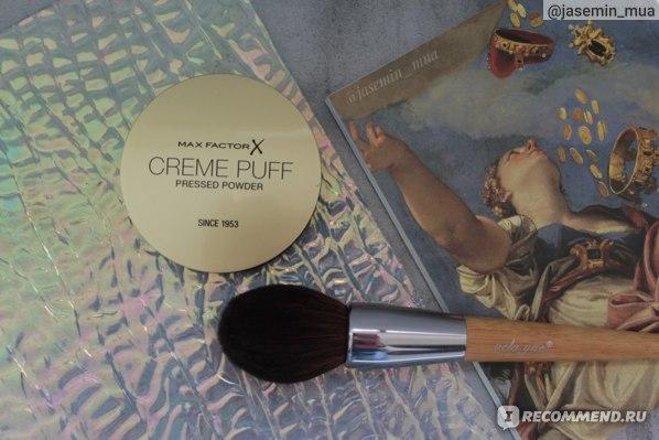 Компактная крем-пудра Max Factor Creme Puff-отзыв.