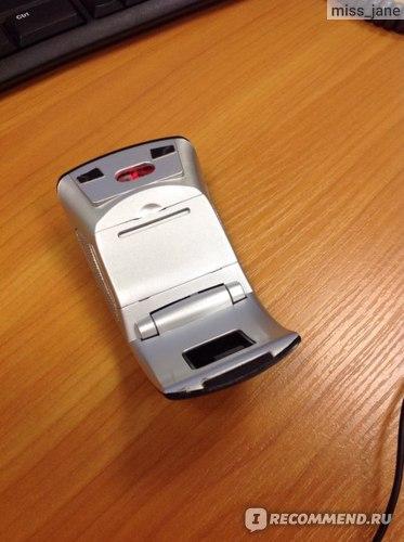 Компьютерная мышь Aliexpress Беспроводная портативная складная мышь Arc, Snap-приемопередатчик USB 2.4 ГГц Мышь для ноутбука фото