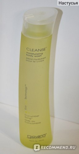 Гель для душа Giovanni Cleanse, Moisturizing Body Wash, Cucumber Song фото