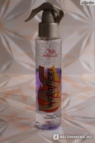 Термозащитное средство Wella Спрей для волос Wellaflex термозащита/стиль.