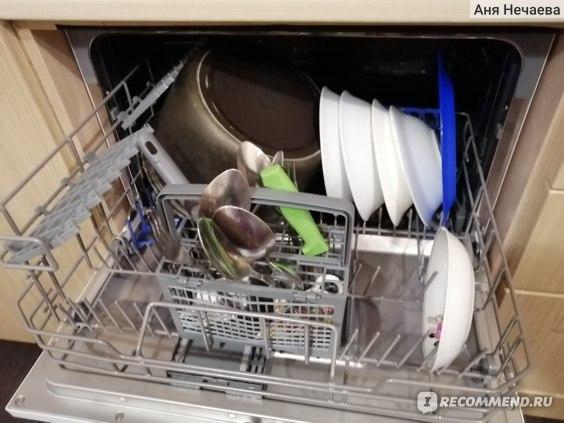 Компактная посудомоечная машина Weissgauff TDW 4006 фото