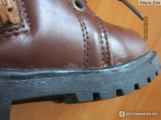 Ботинки Aliexpress NEW PU leather rubber sole children warm waterproof snow boots boy girl boots. Martin boots  фото